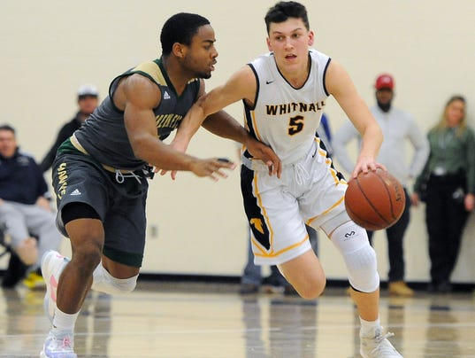 Boys Basketball: Greenfield at Whitnall