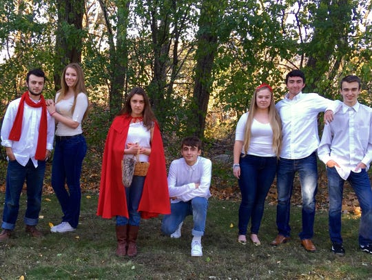 """Spotted Pup Productions perform """"Into the Woods"""" this"""