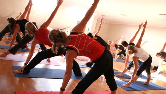 Travelling Yogini Yoga Tours recently launched its  Bend and Brew Yoga series.