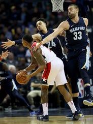 January 5, 2018 - Washington Wizards guard Bradley