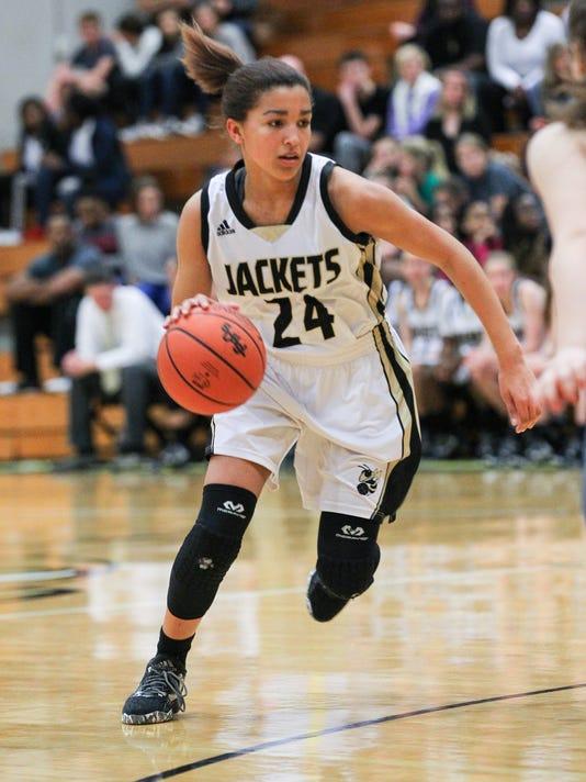 Hanna Clover girls basketball