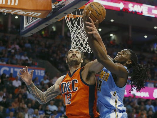 Steven Adams, Kenneth Faried