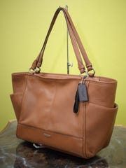 A Coach Leather Tote, $139.00 found at New To You Consignment.