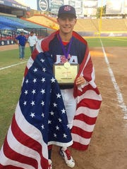 Waukesha West's Jarred Kelenic won a gold medal and