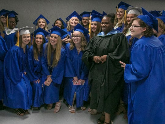 McQueen graduates pose with Washoe County School District