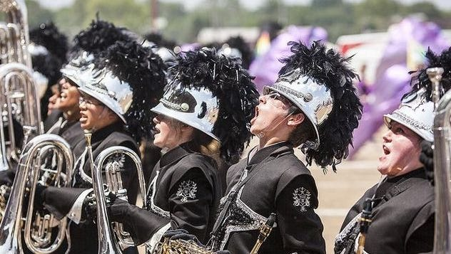 Spirit of Muncie band was state champs at the Indiana State Fair competition last summer.
