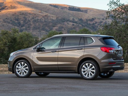 2017 Buick Envision Is A Compact Suv That Imported
