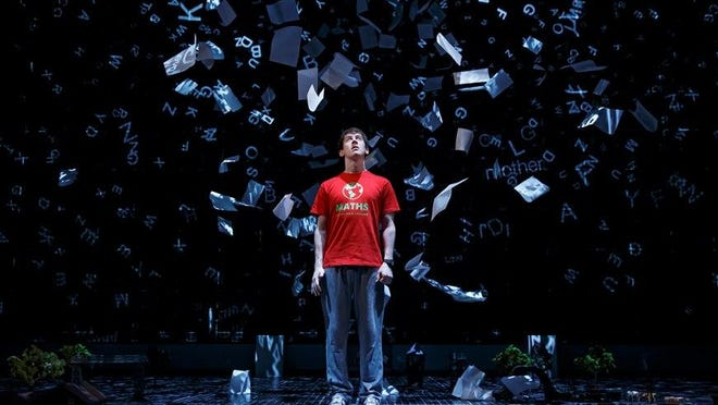 Original Broadway Company of The Curious Incident of the Dog in the Night-Time.