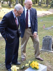 Dick Leill, left, and Joe Micon, executive director