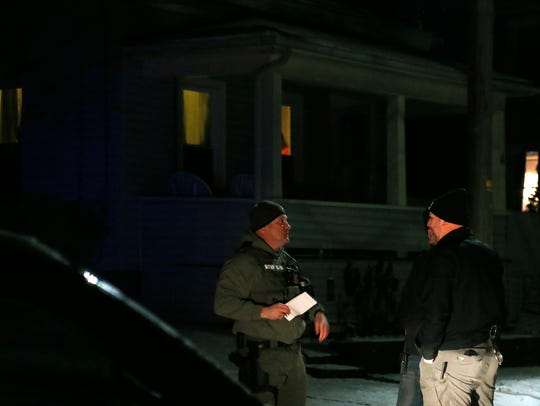 A New York State trooper sustained non-life threatening