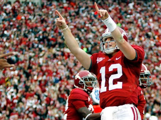 Former Alabama quarterback Greg McElroy expects the Crimson Tide to bounce back after losing the last two games of the 2013 season.