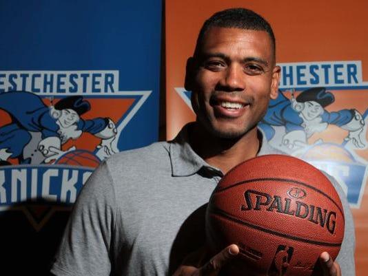 Allan Houston Westchester Knicks