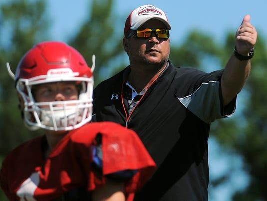 Lincoln High School Football Practice