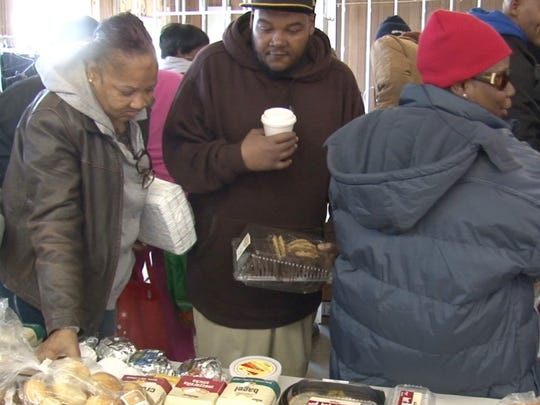 Every Wednesday, the Christian Growth Ministries distrinutes food and clothes to Wilmington residents.