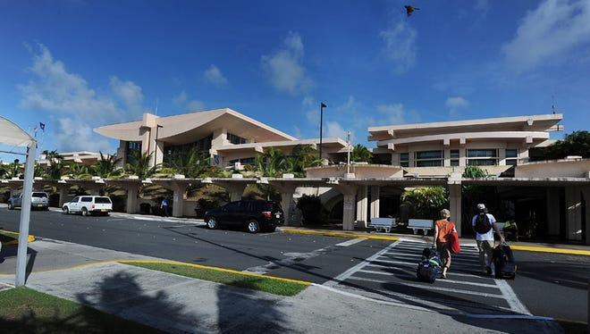 The A.B. Won Pat International Airport Guam is shown in this file photo.