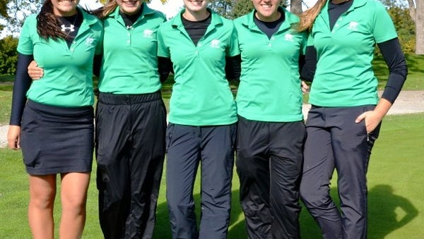 The Novi girls golf team is headed to the Division 1 finals after finishing second at the regional.