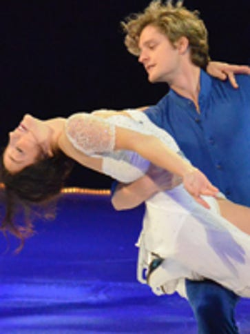 Olympic ice-dance gold medalists Meryl Davis and Charlie