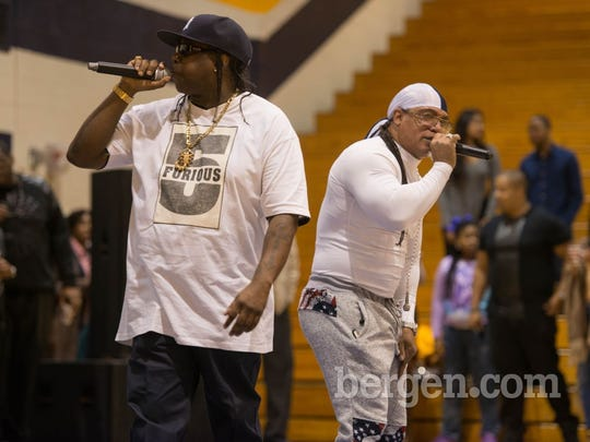 Scorpio and Melle Mel of The Furious Five