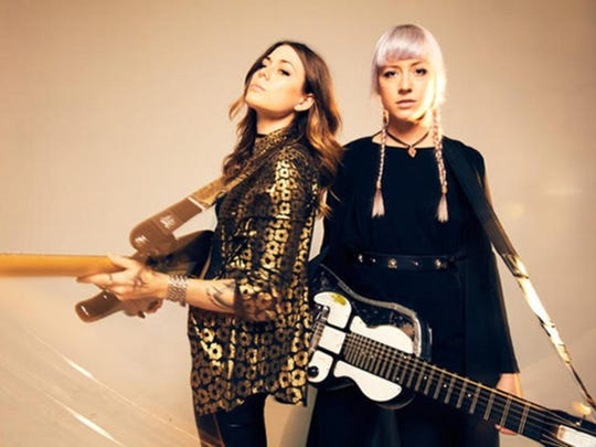 The musical sister act Larkin Poe gets in harmony on Sunday night at Florida State.