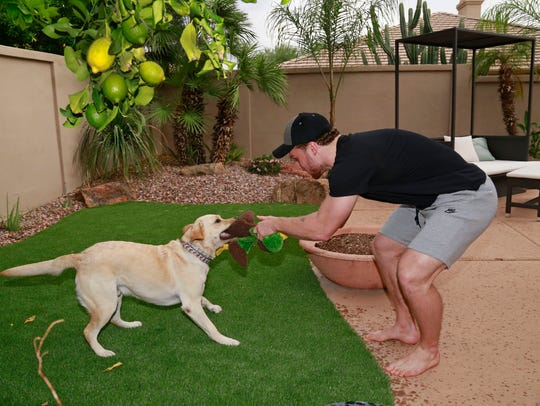 "Orion, Max Domi's diabetic-alert dog, ""works for love,"""