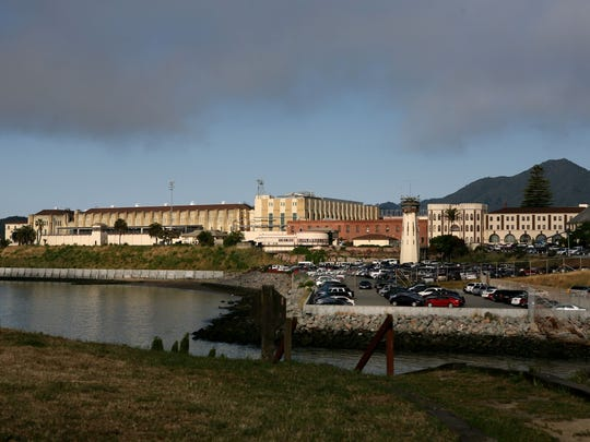 State Prison at San Quentin, where California's death row inmates are held.