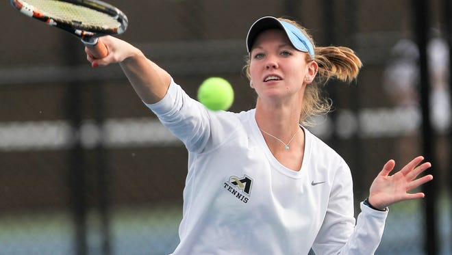 Senior Rebecca Bruning has dropped one conference match all season.