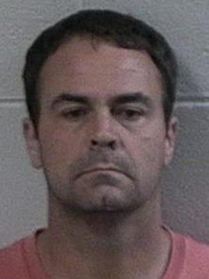 Roger Floyd Hendricks, in 2017 mug shot from the Effingham County Sheriff's Office