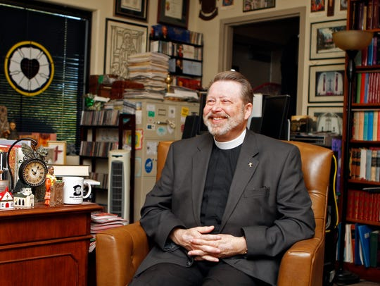 The Rev. Larry Peters, Pastor of Grace Lutheran Church