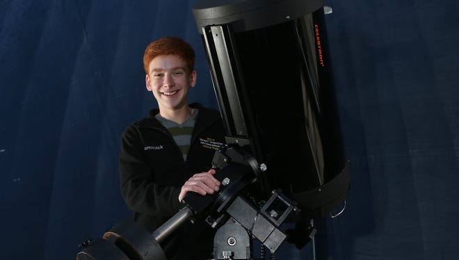 Dominick Rowan, 17, a senior at Byram Hills High School, on Wednesday was named a semifinalist in the Intel Science Talent Search, one of five at his school and 27 across the Lower Hudson Valley. Rowan discovered a Jupiter-like planet as part of a multi-year project in the high school's highly regarded Dr. Robert Pavlica Authentic Science Research Program, the model for Intel-honored work at Byram Hills and Ossining High Schools.