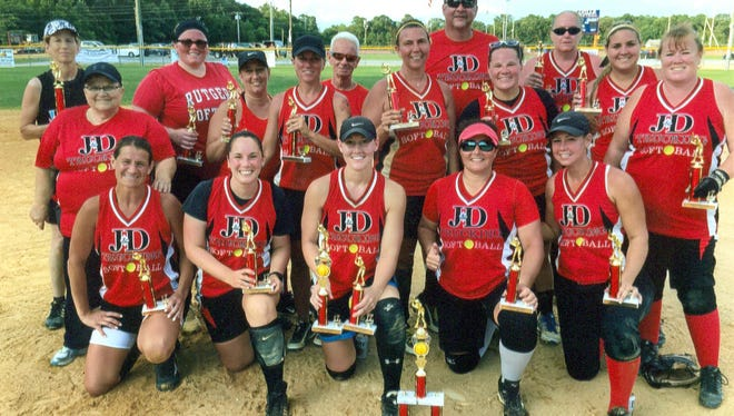 J&D Trucking of Vineland won the Rob Shannon Slo-Pitch Tournament title last weekend.