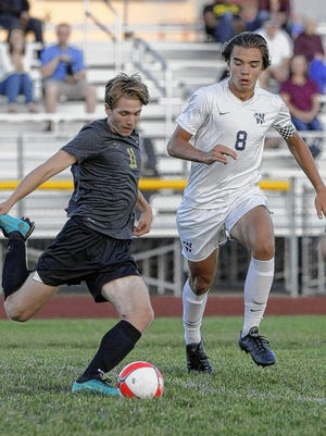 Scott Ruane, a senior defender, is among a strong group of returnees for the Warriors boys soccer team.