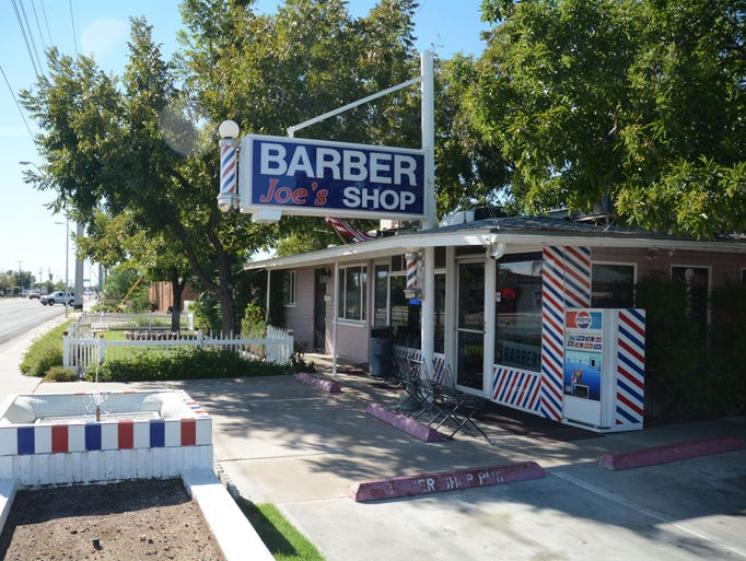 Old-fashioned barber shops in the Southeast Valley
