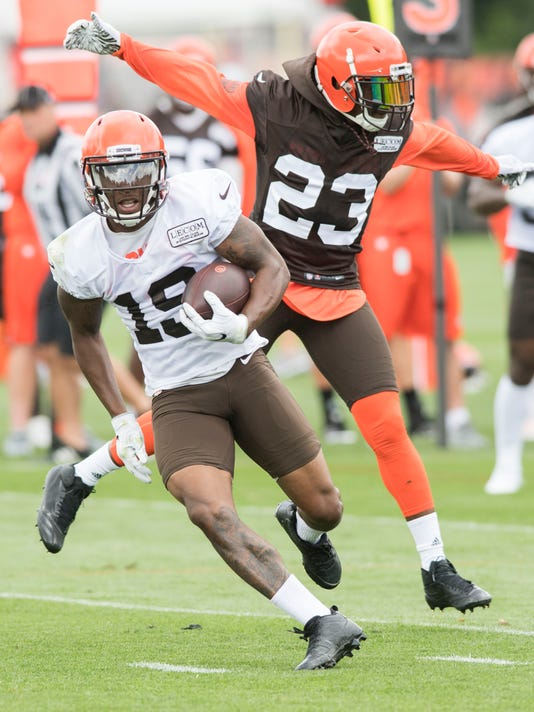 NFL: Cleveland Browns-Training Camp Corey Coleman