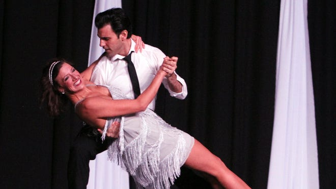 Celebrity dancer Lyndsey Luu and instructor Mike Sherry perform at Dancing for the Stars in 2016. The fundraiser for Big Brothers Big Sisters and America's Small Business Development Center returns to the MPEC Feb. 10.