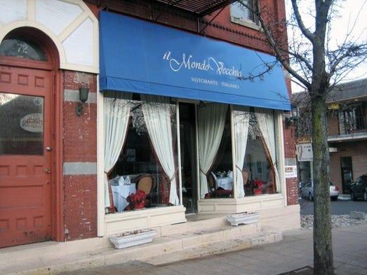 Italian Restaurant In Madison Nj Il Mondo Vecchio