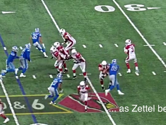 Breaking down Anthony Zettel's sack of Carson Palmer