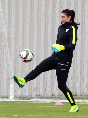 Hope Solo and Team USA open World Cup play Monday against Australia.