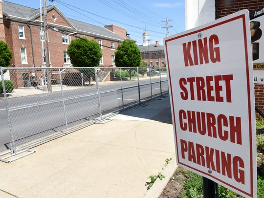 King Street Chuch Work is transforming the former Nassaux-Hemsley, Inc., building on Monday, May 23, 2016 in Chambersburg. The North Second Street building will be renovated for use by the church, which is located across the street.