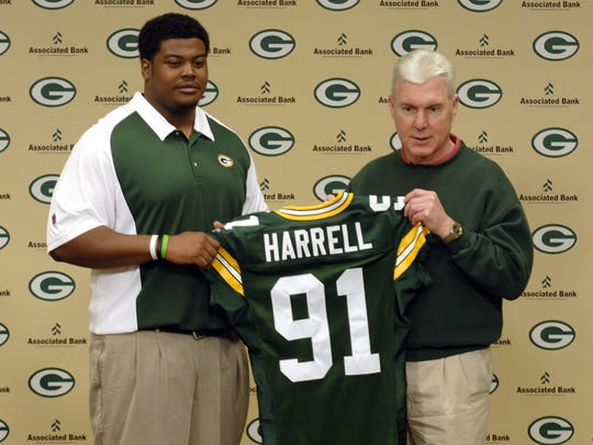 Justin Harrell (DT, Tennessee) was the Green Bay Packers'