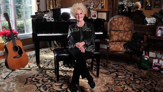 Brenda Lee in the music room at her Nashville-area home.