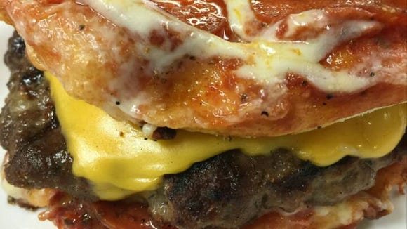 The pizza burger will be available at Deano's beginning
