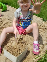 Four-year-old Aurora Rose, of Brown City, passed away from a congenital heart defect in June. Her mother said she loved to collect rocks.