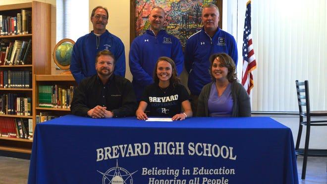Brevard's Jacksie Owen has signed to play softball for Brevard College.