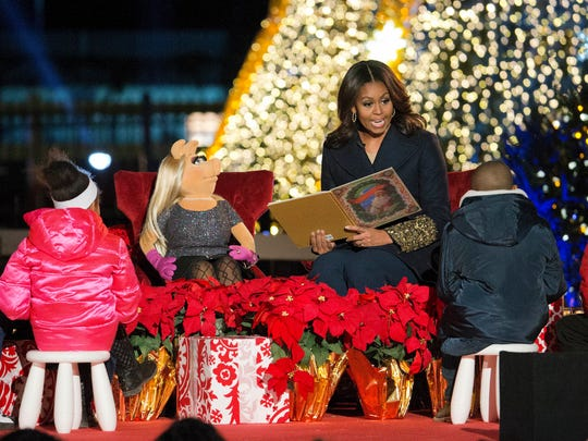 FILE - In this Dec. 3, 2015, file photo, first lady