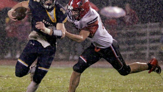 Mitch Michalske became Wausau West's all-time leader in rushing attempts and yards during his senior season this fall. He is one of four finalists for the Win Brockmeyer Memorial Award.