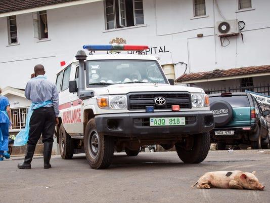 APTOPIX Sierra Leone Ebola