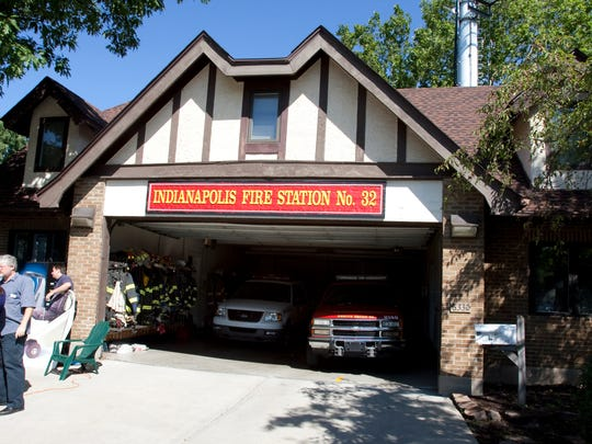 The Broad Ripple fire house