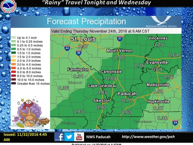 Warmer weather, some rain on the way this week
