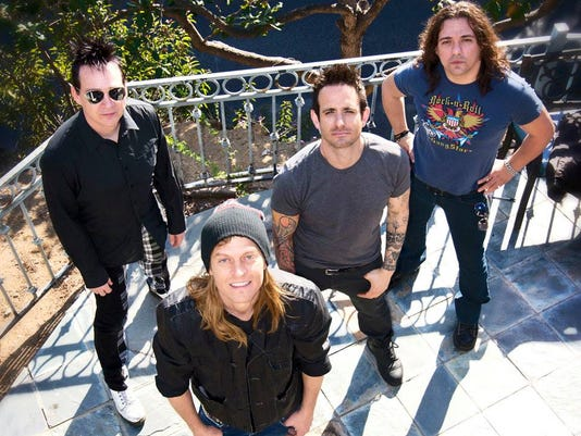 Revamped Puddle of Mudd wants 'Piece of the Action'