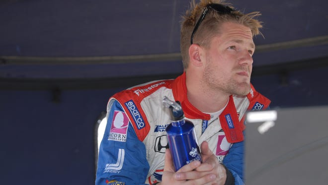 James Jakes hopes to be in the Indy 500.